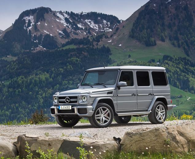 Ищем смысл в самом абсурдном внедорожнике Mercedes-Benz. Фото 3