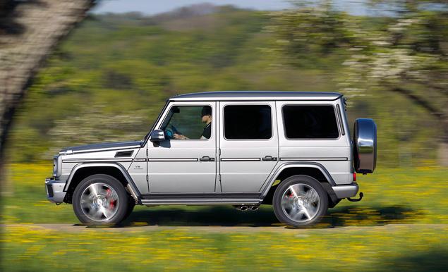 Ищем смысл в самом абсурдном внедорожнике Mercedes-Benz. Фото 6