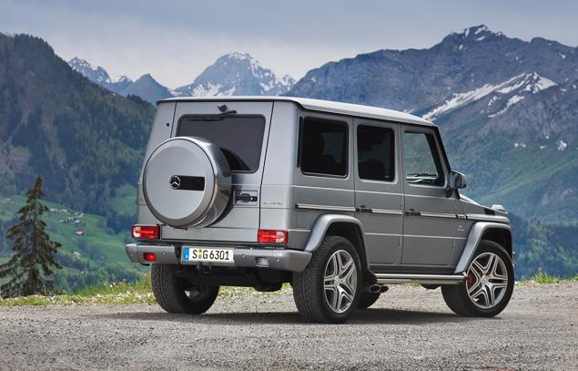 Ищем смысл в самом абсурдном внедорожнике Mercedes-Benz. Фото 8