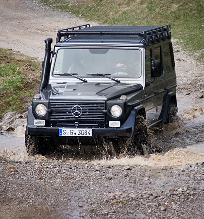 Ищем смысл в самом абсурдном внедорожнике Mercedes-Benz. Фото 9