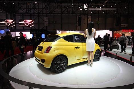 В 2013 году Fiat планирует выпустить на базе модели 500 компактвэн, кроссовер и купе. Фото 1