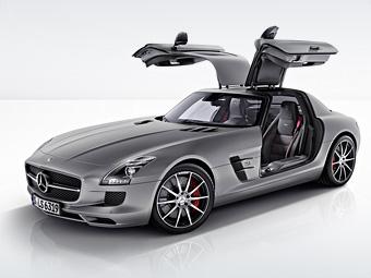 "Mercedes-Benz представил ""трековый"" вариант суперкара SLS AMG"