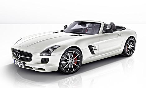 Суперкар Mercedes-Benz SLS AMG получил специальную версию GT с более мощным мотором и жесткой подвеской