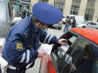 МВД растонирует машины своих сотрудников