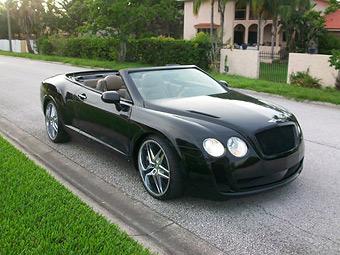 """Американец сделал """"Бентли"""" из старого кабриолета Chrysler"""