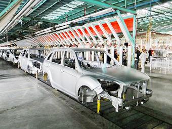 Россия обеспокоилась производством китайских машин в Белоруссии