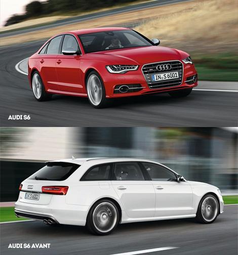 Российские дилеры начали принимать заказы на 420-сильные седаны и универсалы S6, а также на пятидверный хэтчбек Audi S7