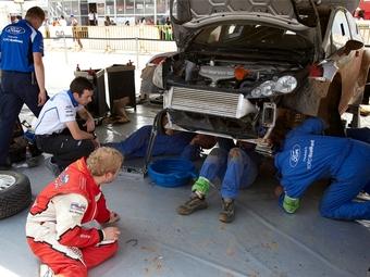 Евгений Новиков назвал инженеров раллийной команды Ford «бакланами»