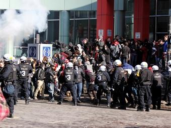 Недовольные студенты попытались сорвать Гран-при Канады