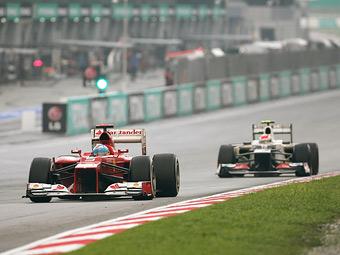 Команды Формулы-1 заблокировали легализацию клиентских шасси