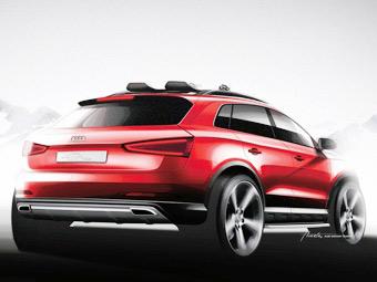 Самый маленький кроссовер Audi покажут в сентябре