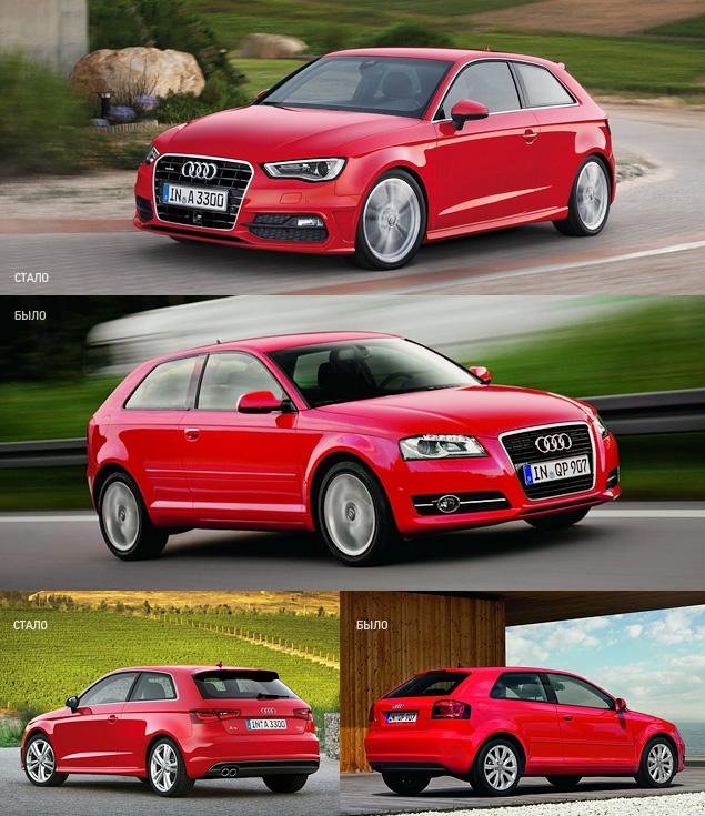 Тест-драйв Audi A3 нового поколения