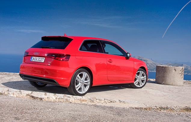 Тест-драйв Audi A3 нового поколения. Фото 2