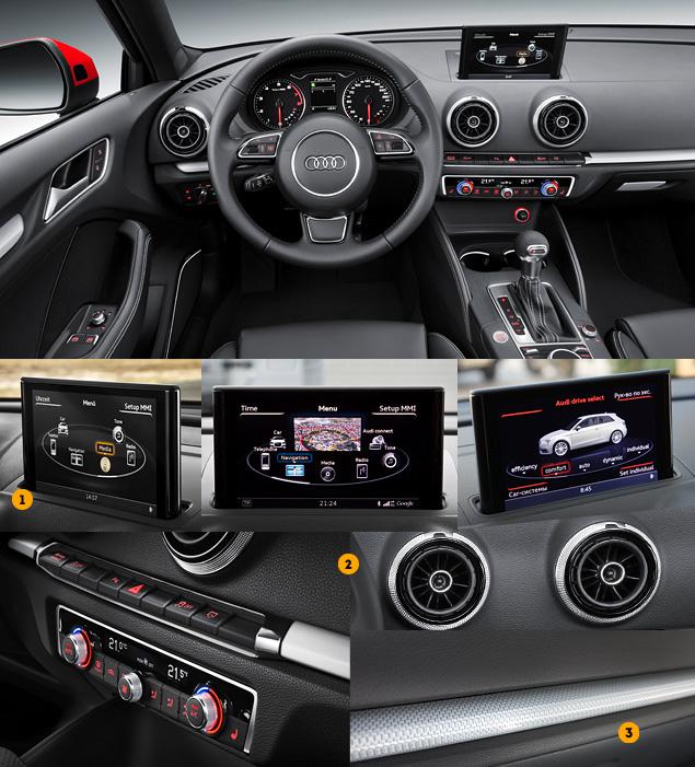 Тест-драйв Audi A3 нового поколения. Фото 3