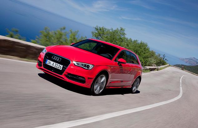 Тест-драйв Audi A3 нового поколения. Фото 6