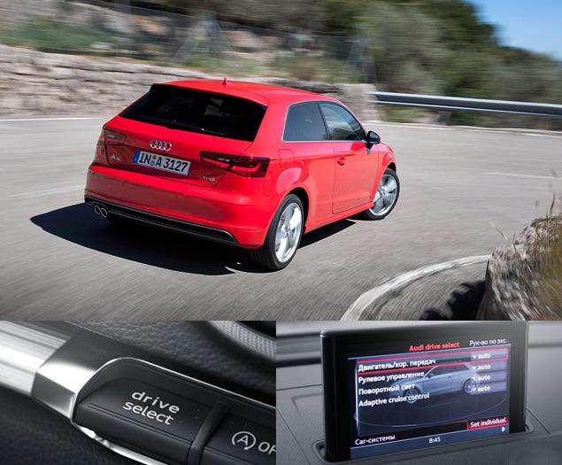 Тест-драйв Audi A3 нового поколения. Фото 7