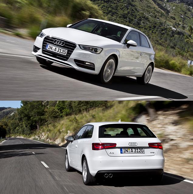 Тест-драйв Audi A3 нового поколения. Фото 9