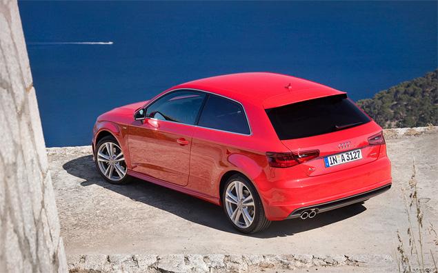 Тест-драйв Audi A3 нового поколения. Фото 10