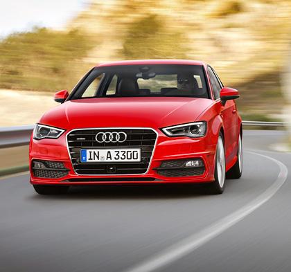 Тест-драйв Audi A3 нового поколения. Фото 11