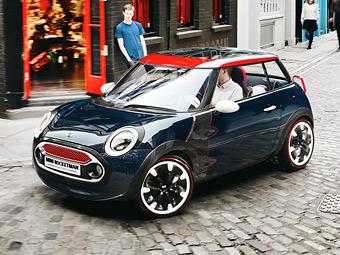 Компания MINI обновила свой самый маленький автомобиль