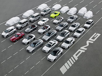 """AMG выпустит восемь новых """"заряженных"""" автомобилей"""