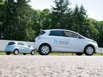 Электрокар Renault установил рекорд по дальности пробега