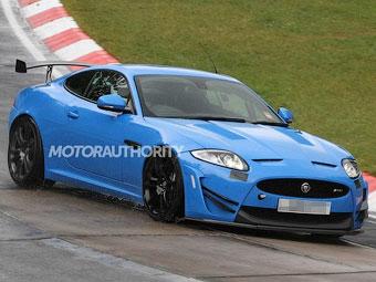 Появились фотографии трекового варианта купе Jaguar XKR-S