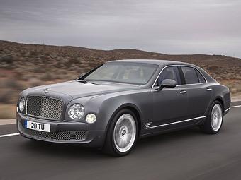 Фирма Bentley сама займется импортом автомобилей в Россию