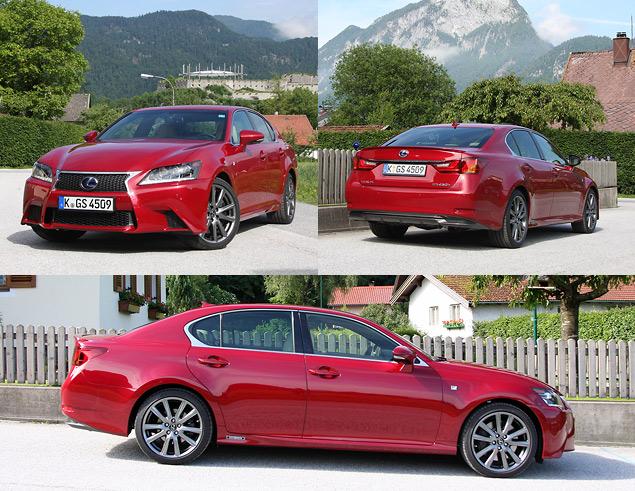 Lexus представил новый GS 450h