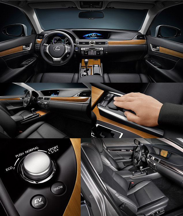 Lexus представил новый GS 450h. Фото 5
