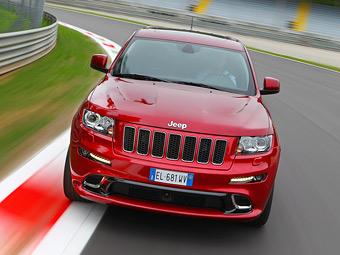 Стали известны рублевые цены на Jeep Grand Cherokee SRT8