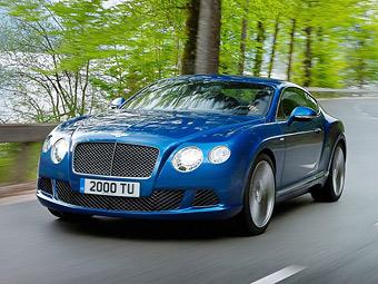 """Bentley сделала """"заряженный"""" Continental мощнее и быстрее"""