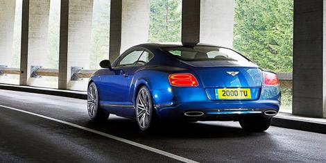 Обновленное купе Continental GT Speed получило 625-сильный мотор W12