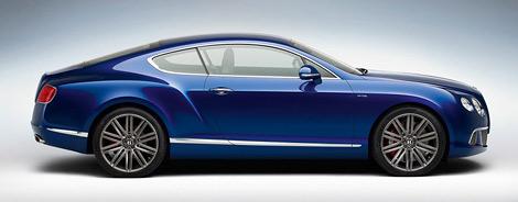 Обновленное купе Continental GT Speed получило 625-сильный мотор W12. Фото 1