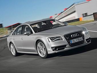 """Audi привезла в Россию """"заряженную"""" версию A8"""