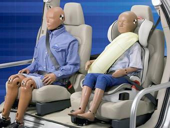 На новом Ford Mondeo появятся надувные ремни безопасности