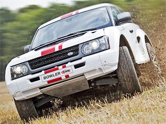Land Rover стал партнером производителя гоночных внедорожников