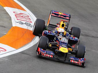 Феттель сместил Мальдонадо с первого места в тренировке Формулы-1