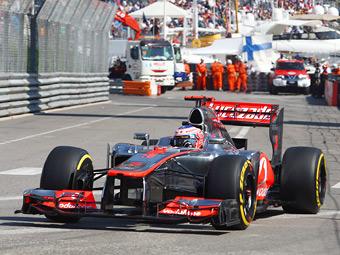 Дженсон Баттон опередил пилотов Lotus в тренировке Гран-при Европы