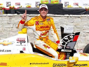Райан Хантер-Рэй выиграл вторую гонку INDYCAR подряд