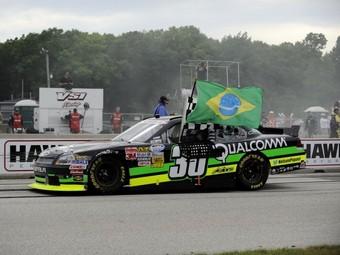 Нельсон Пике-младший выиграл первый этап в серии NASCAR
