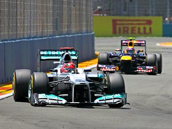 Судьи Гран-при Европы простили Шумахеру нарушение правил