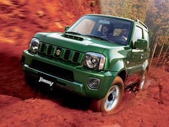 Внедорожник Suzuki Jimny обновился