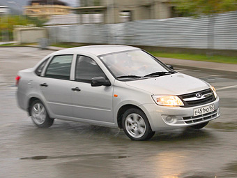 Lada Granta будут выпускать на Украине