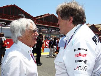 Mercedes-Benz покинет Формулу-1 в случае признания Экклстоуна взяточником