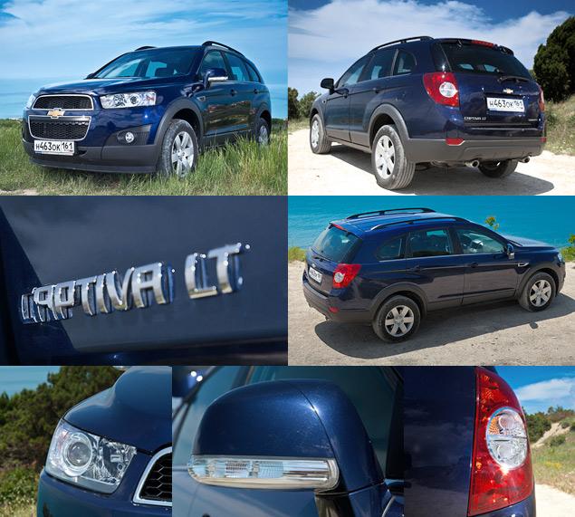 Chevrolet Captiva получил турбодизель и новую внешность