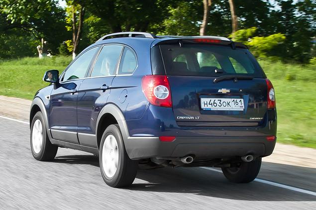 Chevrolet Captiva получил турбодизель и новую внешность. Фото 5