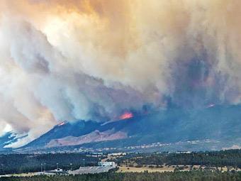 Ежегодную гонку Pikes Peak отложили из-за лесных пожаров