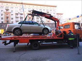 Эвакуация автомобилей в Подмосковье стала платной
