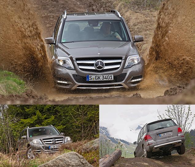 Тестируем обновленный кроссовер Mercedes-Benz GLK. Фото 7